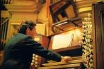 David Reeves at the Organ