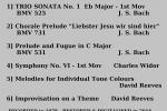 St Gabriels Track List