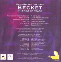 Becket Live Back CD Cover