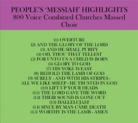 Messiah Back Cd Cover