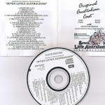 Original Cast recording Seven Little Australians