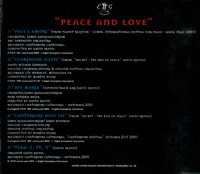 Peace and Love Back CD Cover
