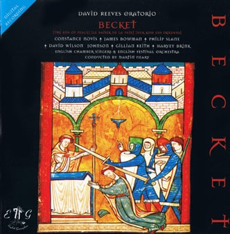 David Reeves Becket The Kiss Of Peace Studio Recording