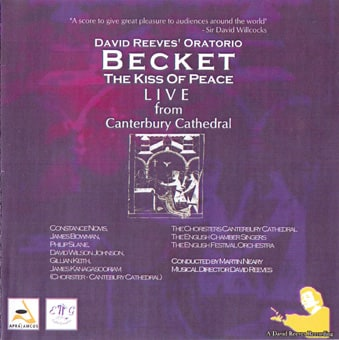 David Reeves Becket The Kiss of Peace Live Recording Canterbury Cathedral