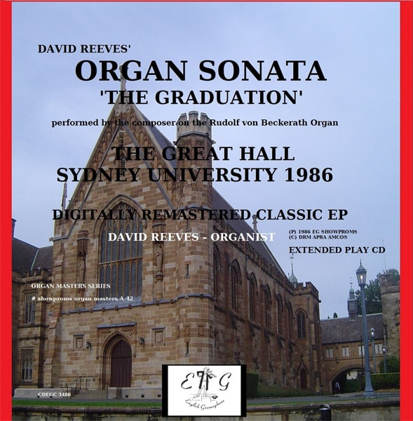 David Reeves Organ Sonata The Graduation