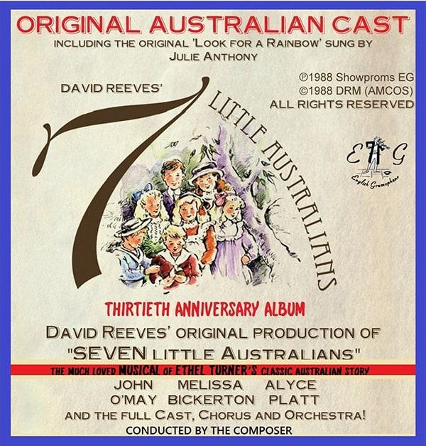 David Reeves Seven Little Australians 2018