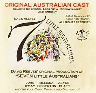 David Reeves Seven Little Australians Original Australian Cast