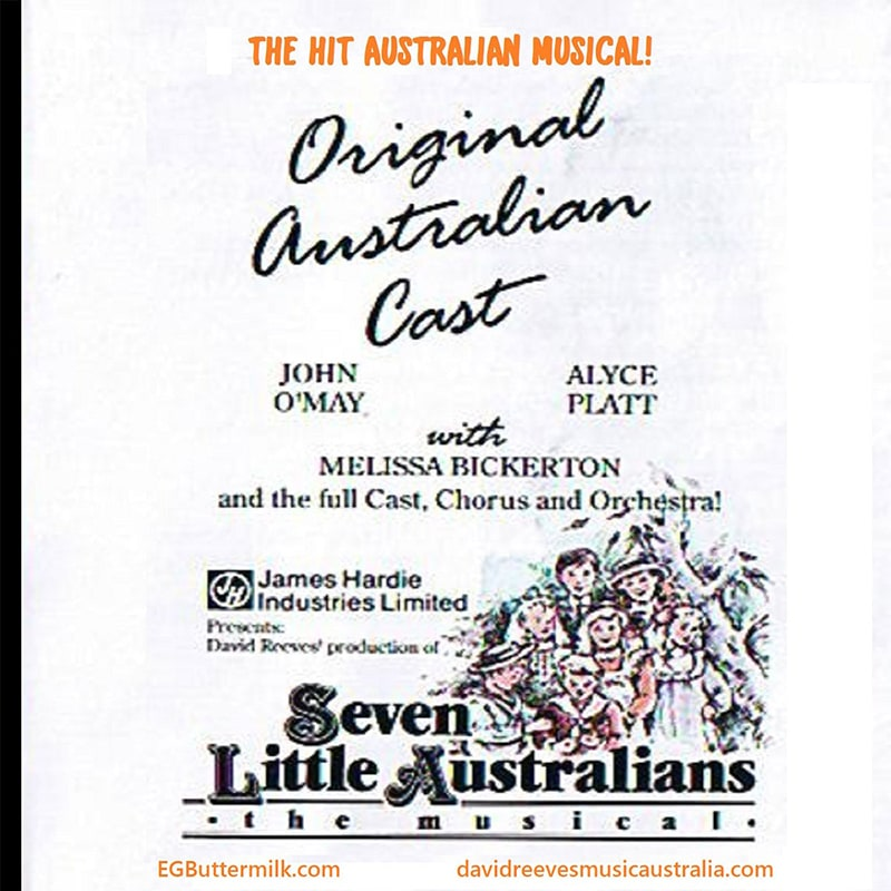 David Reeves Seven Little Australians Original Cast