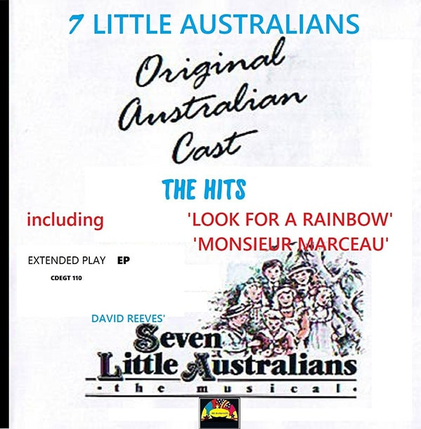 David Reeves Seven Little Australians The Hits EP