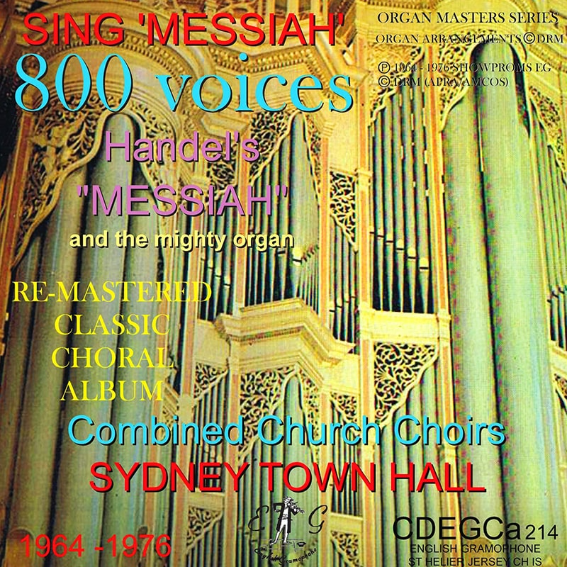 David Reeves Sing Messiah 800 Voices Sydney Town Hall